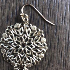 Anthropologie Jewelry - GOLD DANGLING EARRINGS !